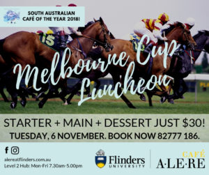 Melbourne Cup Luncheon at the award-winning Café Alere.