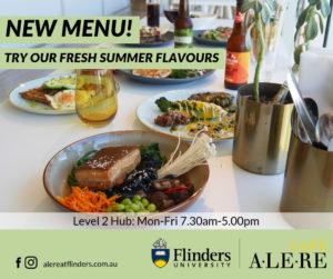 New Summer menu at Café Alere.