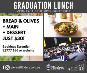 Graduation Lunch at Café Alere